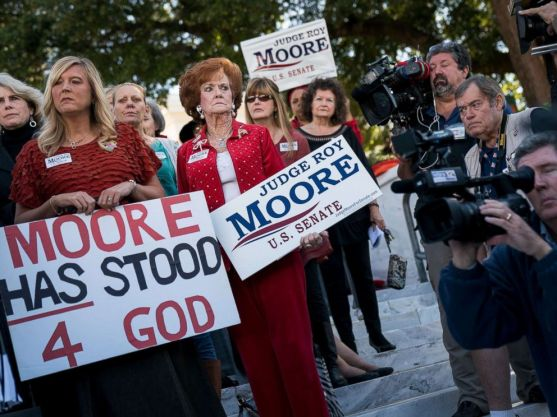 Moore for God